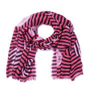 Marc by Marc Jacobs Women's Peephole Logo Scarf - Cheek Pink