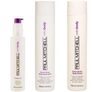 Paul Mitchell Extra Body Trio- Shampoo, Daily Rinse & Thicken Up