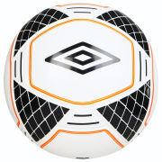 Umbro Geometra Vero Football - White/Black/Orange