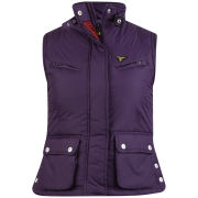 Le Breve Women's Vallo Gilet - Plum