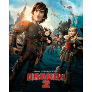 How to Train Your Dragon 2 One Sheet - Mini Poster - 40 x 50cm