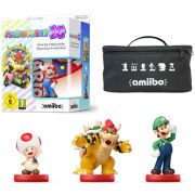 Mario Party 10 amiibo Mixer Pack - Mario, Bowser, Toad & Luigi