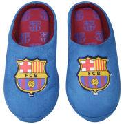 Bafiz Boys' Barcelona Defender Mules - Reflex Blue/Burgundy