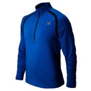 New Balance Men's Running Impact Half Zip Top - Laser Blue/Petrol