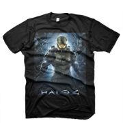 Halo 4 Men's T-Shirt - The Return - Black