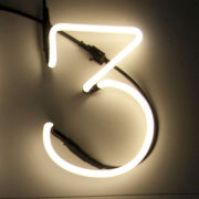 Seletti Neon Font Shaped Lamp - 3
