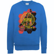 Football Manager World Renowned Men's Sweatshirt - Royal Blue