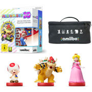 Mario Party 10 amiibo Pack - Mario, Bowser, Toad & Peach