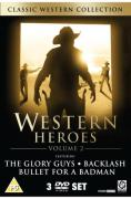 Western Box Set 2 (Bullet For A Badman / Glory Guns / Backlash)