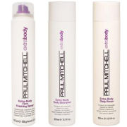 Paul Mitchell Extra Body Trio- Shampoo, Daily Rinse & Finishing Spray
