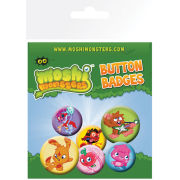 Moshi Monsters Monsters Pack - Badge Pack