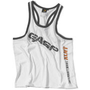 GASP Vintage T-Back Tank - White