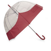 Hunter Women's Original Moustache Bubble Umbrella - Military Red