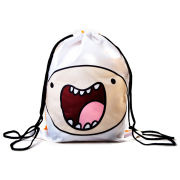 Adventure Time Finn And Jake Double Sided Design Drawstring Bag