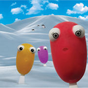 Frosty Friends Ice Lolly Mould