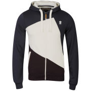Soul Star Men's Fearne Zip Through Hoody - Navy