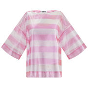 Sonia by Sonia Rykiel Women's Transparent Stripe Top - Pink