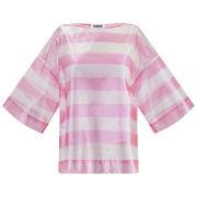 Sonia by Sonia Rykiel Women's Transparent Stripe Top - Pink