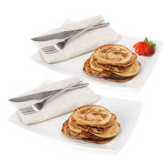 Exante Diet Box of 25 Maple Syrup Pancakes and 25 Blueberry and Raspberry Pancakes