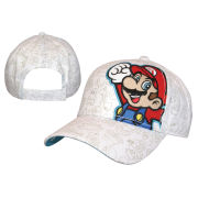 Mario - Adjustable Cap (White)