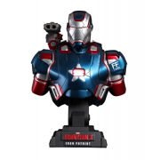 Hot Toys Iron Man 3 Iron Patriot Limted Edition 9 Inch Bust