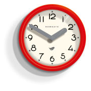 Pantry Wall Clock - Fire Engine Red