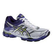 Asics Women's Gel-Cumulus 16 Trainers - White/Lightning/Purple