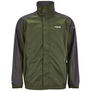 Regatta Men's Portman Waterproof ISOLITE Lightweight Jacket - Racing Green/Ash