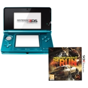 Nintendo 3DS Console (Aqua Blue) Bundle: Includes Need For Speed: The Run
