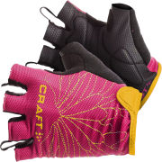 Craft Active Bike Gloves - Pink/Orange/Black