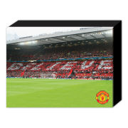 Manchester United Believe - 40 x 30cm Canvas