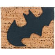 DC Comics Batman Black Angled Logo Bi-Fold Wallet