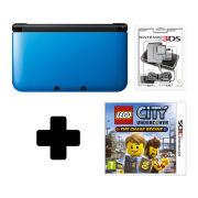 Nintendo 3DS XL Blue/Black LEGO City Undercover Pack