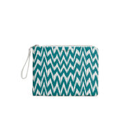Paul's Boutique Fleur Zig Zag Clutch Bag - Teal