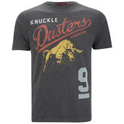 Ringspun Men's Knuckle T-Shirt - Black
