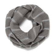 French Connection Gabby Knitted Scarf - Grey/Silver