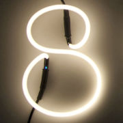 Seletti Neon Font Shaped Lamp - 8