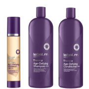 Label.m Age Therapy Shampoo 1L, Conditioner 1L & Oil 100ml Trio