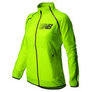 New Balance Women's NBX Hi Viz Beacon Jacket - Hi Vis Yellow