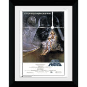 Star Wars IV One Sheet - Collector Print - 30 x 40cm