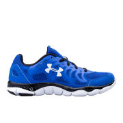 Under Armour Men's Micro G Engage Running Shoes - Scatter Blue/Black/White