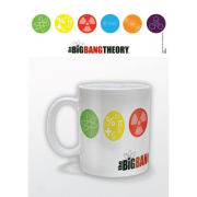 Big Bang Theory Symbols Mug