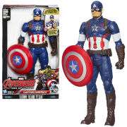 Marvel Avengers Age of Ultron Titan Hero Tech Interactive Electronic Captain America Action Figure