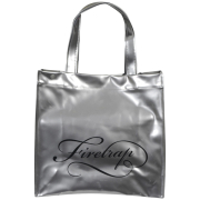 Firetrap Women's Vain Logo Front PVC Tote Bag