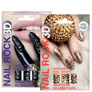 Rock Cosmetics Nail Rock Nail Wrap Duo-Doodad Black and Doodad Mix