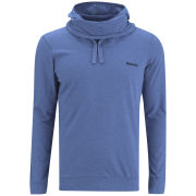 Bench Men's Lobotomy Long Sleeve Hooded Top - Blue