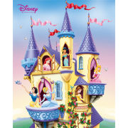 Disney Princess Castle - Mini Poster - 40 x 50cm