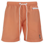 Crosshatch Men's Chatsworth Swim Shorts - Coral