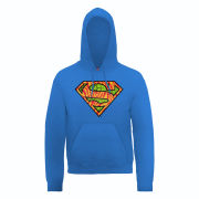 DC Comics Hoody - Superman Wild Logo - Royal Blue