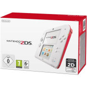 Nintendo 2DS Console (White + Red)